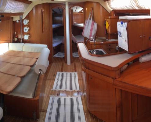 week end in barca a vela isole egadi